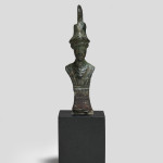Roman wax spatula handle , 2nd-6th century AD