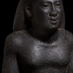 Egyptian bust of Djed-Hor-Iuf-Ankh, Late Dynastic Period, 26th Dynasty, c.664-525 BC