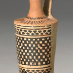 Greek white-ground lekythos, Athens, c.470-450 BC, Beldam Painter