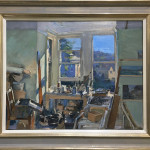 Peter Brown ROI NEAC, Summer's Morning in the Studio