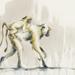 Julia Cassels, Piggy Back (Hungerford Gallery)