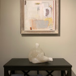 Felice Hodges, Still Life: Cinnabar and Off White (London Gallery)