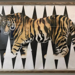 Nikki Stevens, Vanishing Tiger (London Gallery), 2015
