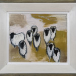 Bridget Lansley, Sideways Glance (London Gallery)