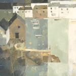 Angela Wilson, Polperro Early (Hungerford Gallery)