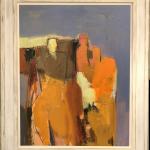 Dafila Scott, Three Figures, Blue Sky (London Gallery)