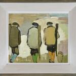 Bridget Lansley, Walking Up (London Gallery)