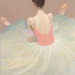 Katya Gridneva, Ballerina Resting (Hungerford Gallery)