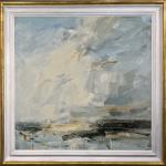 Louise Balaam, White Cloud Leap, Norfolk Coast (London Gallery)