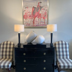 Christine Seifert, Flamingos (Hungerford Gallery)