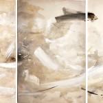 Bob Aldous, Triptych - Past Present Future (London Gallery), 2017