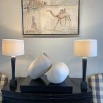 Christine Seifert, Leading Camel (Framed) (Hungerford Gallery)