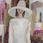 Bridget Lansley, In the Souk