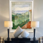 Angela Wilson, View to Camirore, Tuscany (Hungerford Gallery)