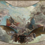 STUDY FOR THE CEILING OF THE EDEN THEATER