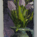 Colin Halliday, Tulips in a Jug, 2014-15