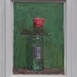Ben Henriques, Pink Flower on Green