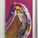 Lisa Sharpe Paintings, Pink