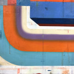 Deborah Zlotsky, On, over, through, 2017