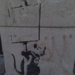 Banksy, 'Anarchy Rat / Peace Rat' , 2002/2003 (not for sale)