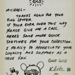 Letter with Andy Mouse