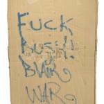 "Banksy, ""Bomb Hugger"", 2003"