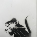 Banksy, 'Bowler Hat Rats on fridge panel' aka 'Lock Pick Rats', ca. 2004