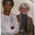 Portrait of Andy Warhol & Jean Michel Basquiat
