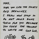 Letter to Mike with drawings