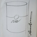 Soup Can Drawing