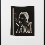 """Original acetate from """"Ladies & Gentlemen"""" Portrait of Vilhelmina Ross."""