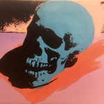 Charles Lutz, Skull painting, 2007