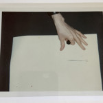 Self Portrait with Fright Wig and Artist´s hand. Diptych, 1986