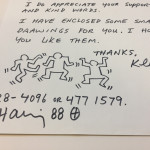 Letter with dancing men