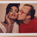 Andy Warhol, Portrait of Keith Haring with model, 1984