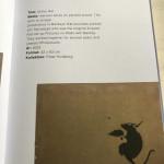 """Banksy, """"Drill Rat"""" , 2003"""