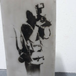 Banksy, Paparazzi Rat - Photographer Rat , 2003/2004