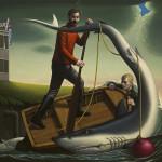 John Tarahteeff, Overboard
