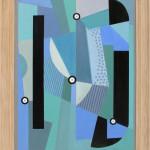 Tim Woolcock, Blue and Turquoise Amalgam