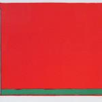 John Hoyland, Swiss Red