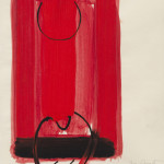 Terry Frost, Untitled Red and Black, 1977