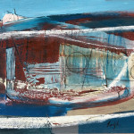 Leigh Davis, Encroaching Tide, St Mary's Quay, Isles of Scilly