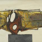 Leigh Davis, Paint Study for a Sculpture No 2