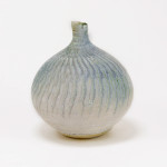 Hugh West, Blue Grey Bottle Vase