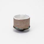 Paula Downing, Wine Beaker - White