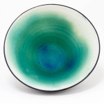 Hugh West, Matt Electric Blue Bowl