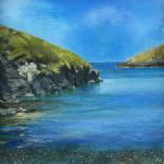 Suki Wapshott, Blue, Port Quin