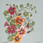 Caroline Cleave, Trailing Geraniums