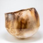 Rachael Osborne, Smoke Fired Hand Built Large Bowl
