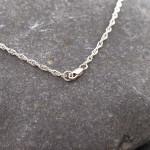 Marsha Drew, Thin Double Link Chain 16'